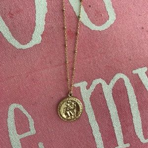 Jewelry - 14K gold filled 20 inches coin necklace